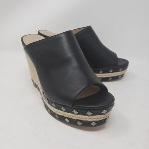 Charles by Charles David wedge open toe size 9